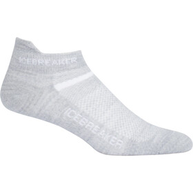 Icebreaker Multisport Ultralight Micro Socks Damen blizzard hthr/white